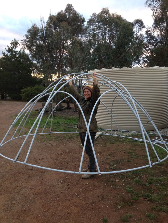 How to make a lightweight chook tractor